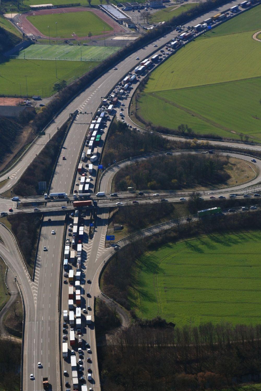 Autobahn Stau A3