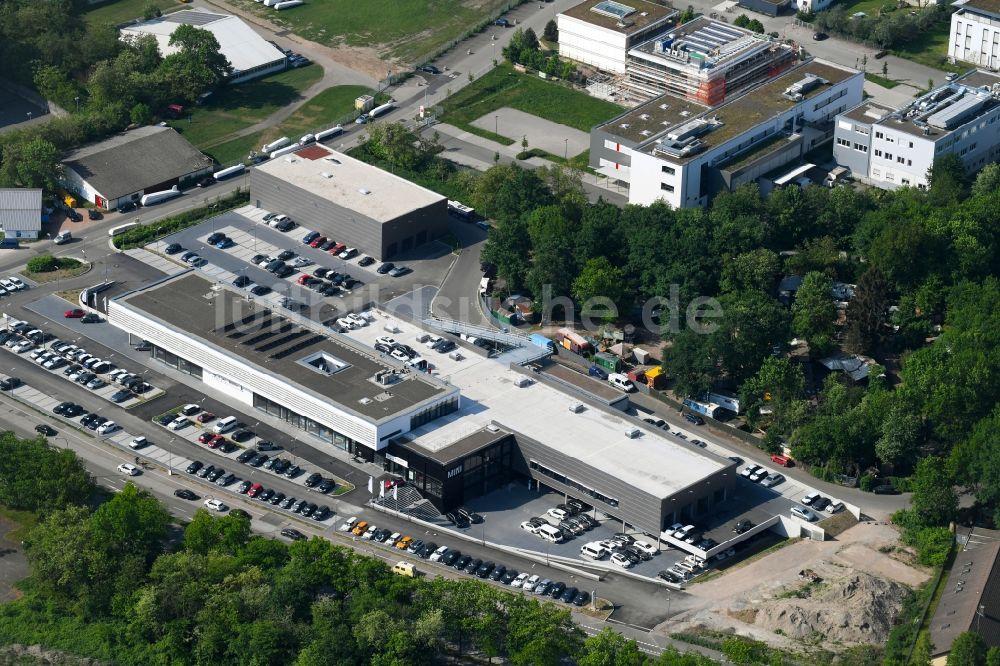 Freiburg Im Breisgau Von Oben Autohandels Gebäude Des Autohauses