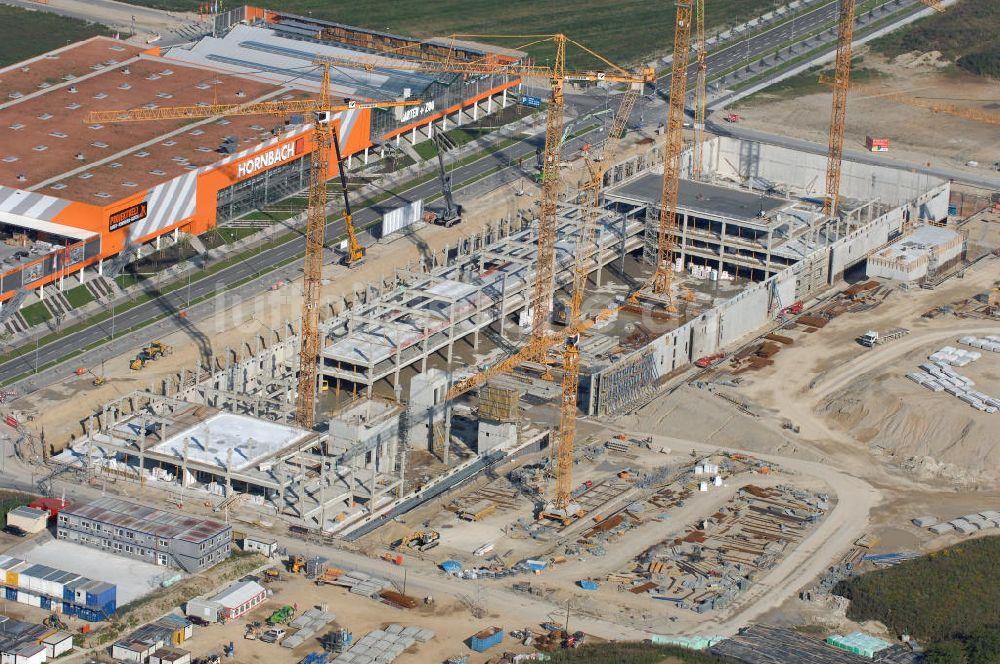 Luftbild München Baustelle Des Möbelhauses Höffner An Der Hans