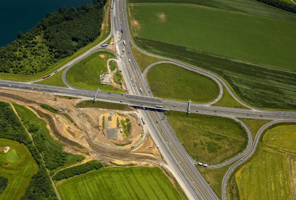 A59 Baustelle
