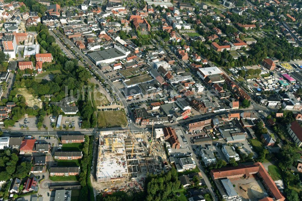 7997f0753476a3 Luftaufnahme Cloppenburg - Baustelle zum Neubau des Gebäudekomplexes ...