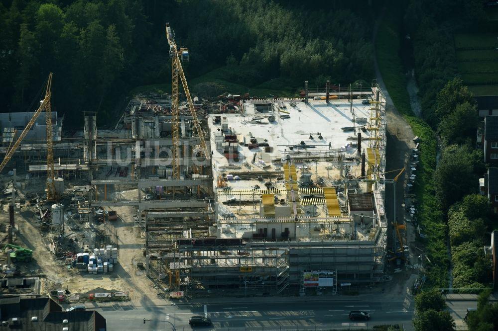 78bdd648637132 Luftbild Cloppenburg - Baustelle zum Neubau des Gebäudekomplexes des ...