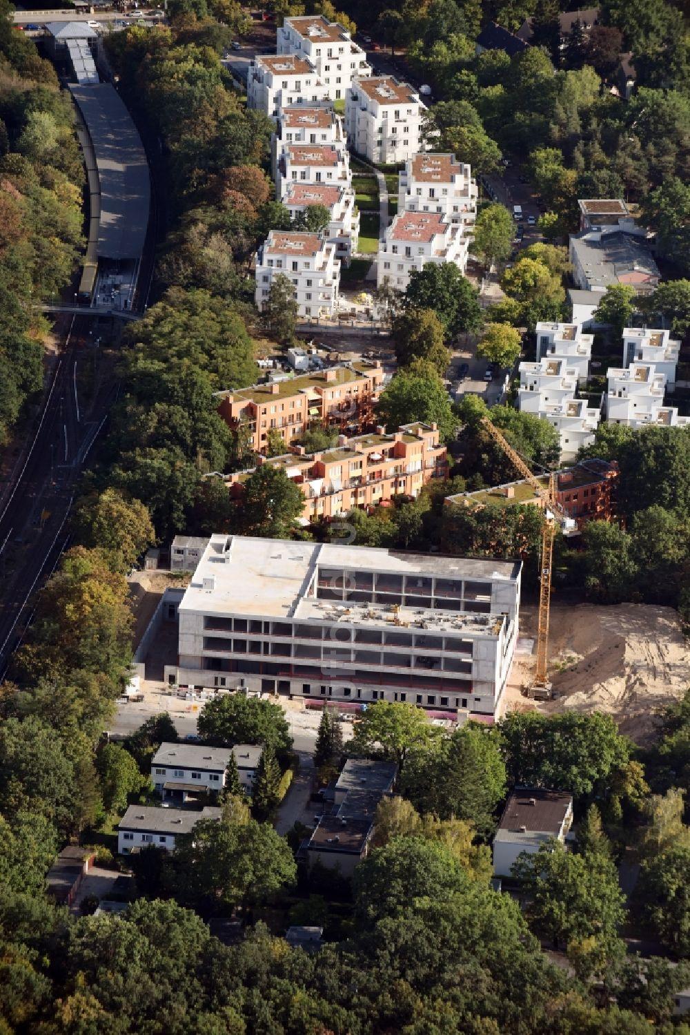 Bauunternehmer Berlin aus der vogelperspektive baustelle zum neubau der könig fahd