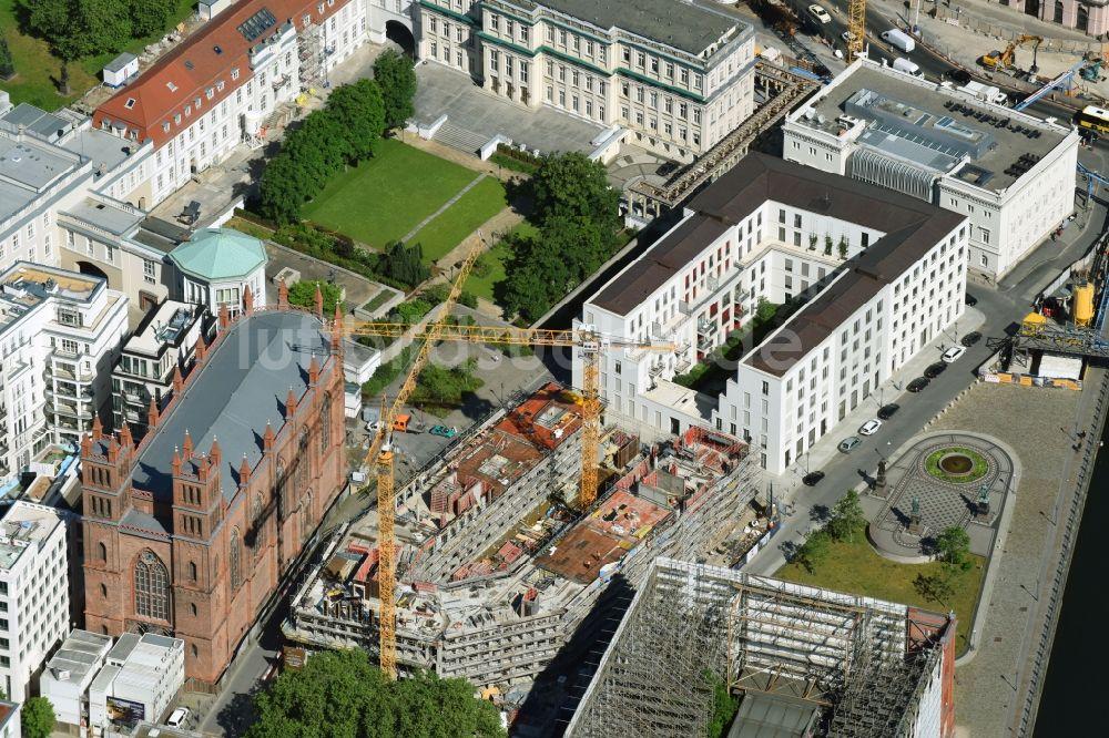 Luftbild berlin baustelle zum neubau einer for Mehrfamilienhaus berlin