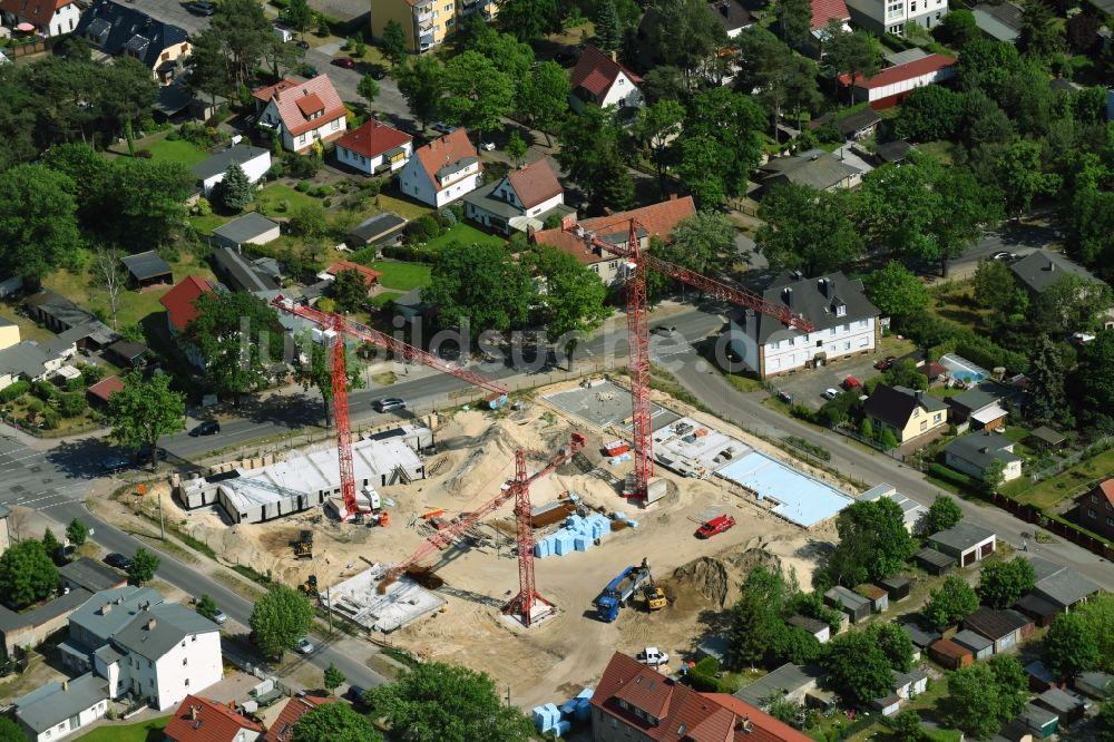 Owg Oranienburg oben baustelle zum neubau einer mehrfamilienhaus wohnanlage
