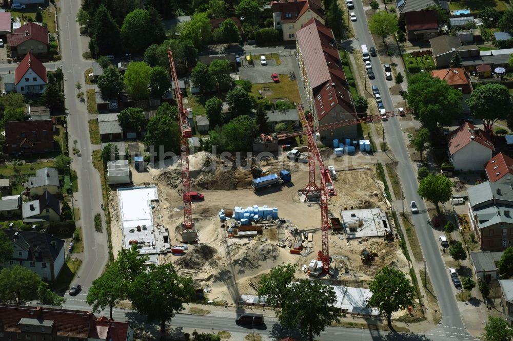 Owg Oranienburg oranienburg baustelle zum neubau einer mehrfamilienhaus wohnanlage