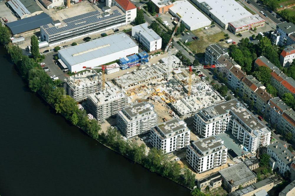 Berlin von oben baustelle zum neubau einer for Mehrfamilienhaus berlin