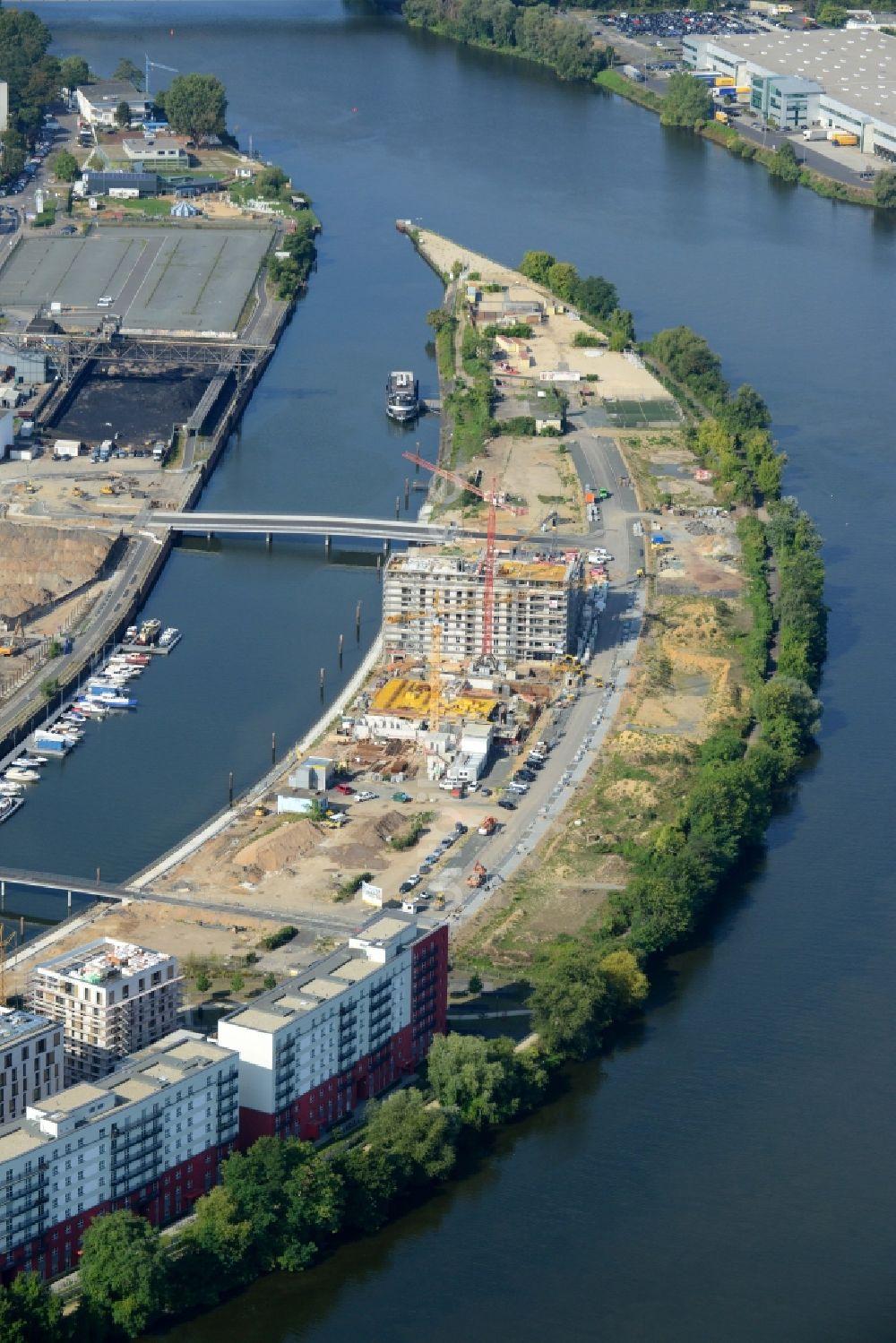 Baufirma Frankfurt offenbach am baustelle zum neubau einer mehrfamilienhaus