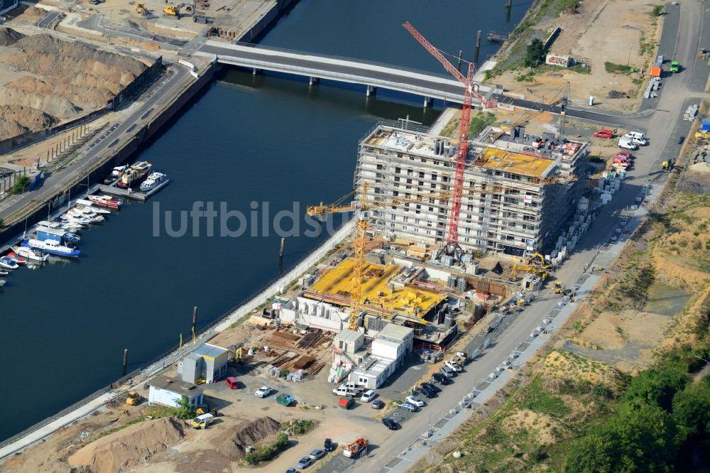 Baufirma Frankfurt am oben baustelle zum neubau einer mehrfamilienhaus