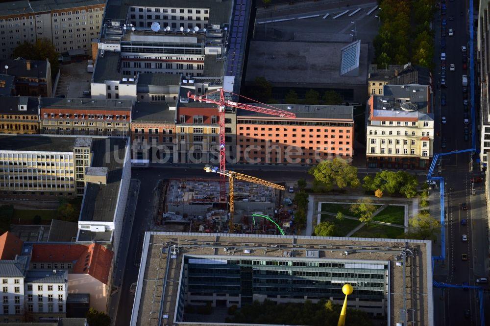 Berlin aus der Vogelperspektive: Bauvorhaben Wohnanlage Lux am ...