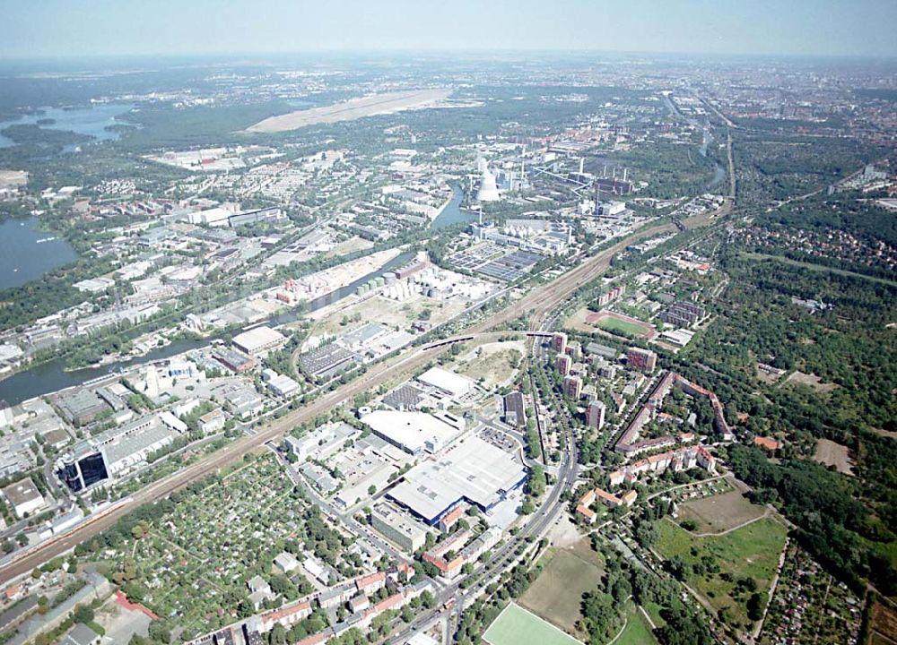 Luftbild Berlin Spandau Berlin Spandau Mit Blick Auf Das Ikea