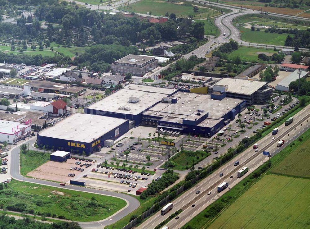 Luftaufnahme Walldorf Blick Auf Das Ikea Einrichtungshaus