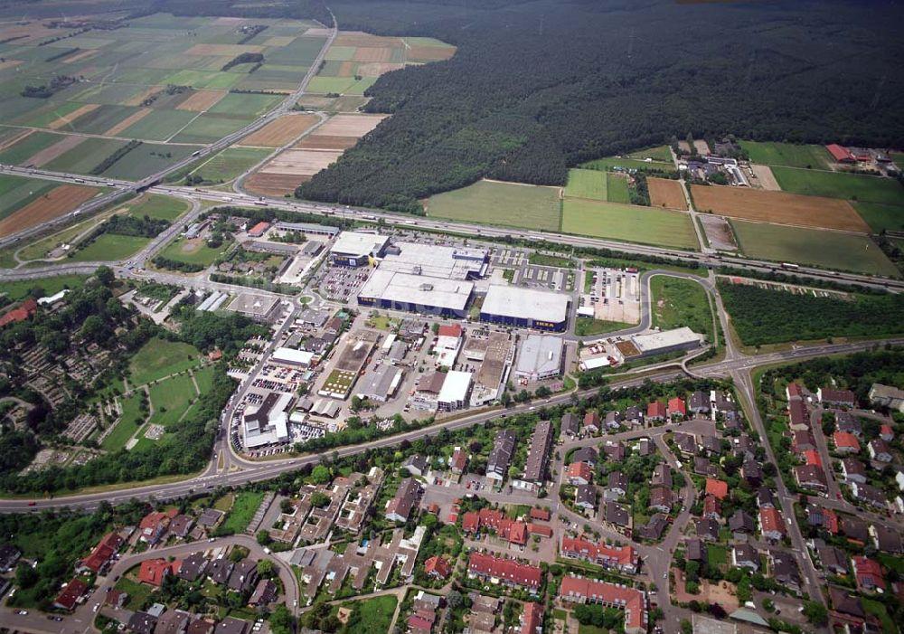 Einrichtungshaus Heidelberg walldorf blick auf das ikea einrichtungshaus walldorf bei heidelberg