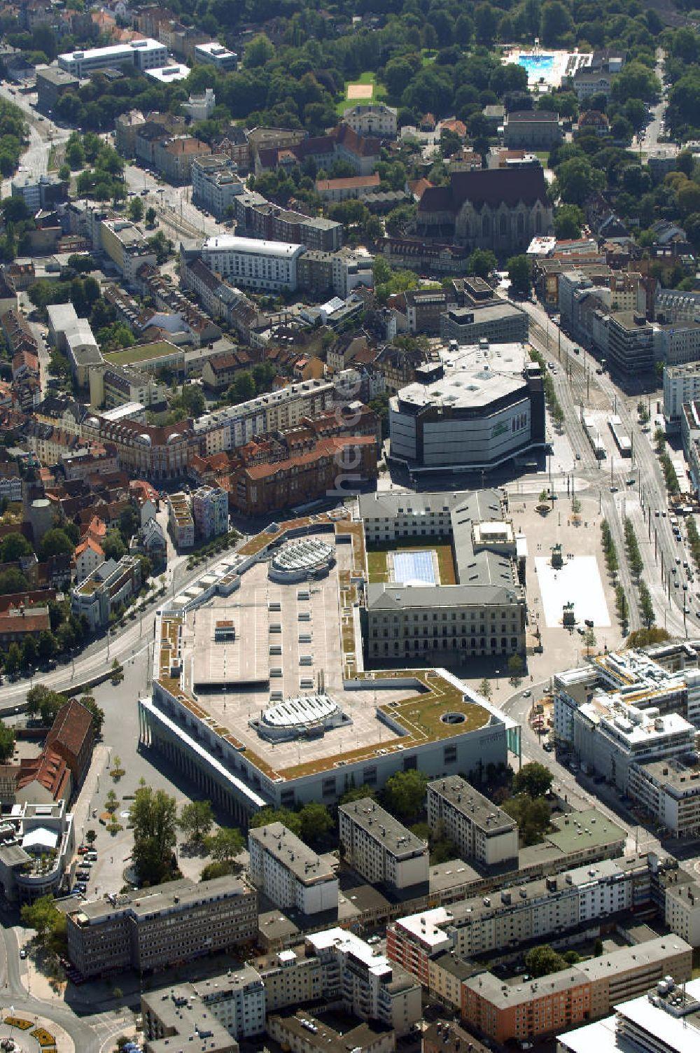 Luftaufnahme Braunschweig Blick Auf Das Magni Viertel In Braunschweig