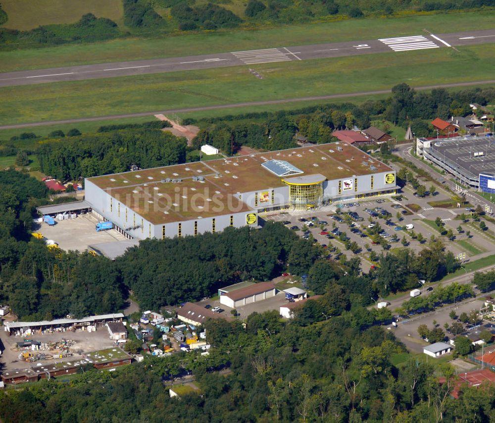 Luftbild Freiburg Braun Mobel Center In Freiburg Baden Wurttemberg