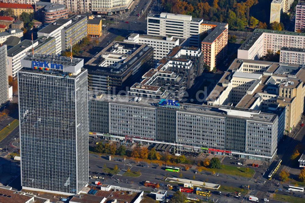 Luftaufnahme Berlin Burogebaude Des Geschaftshauses Der Treuhand Liegenschaftsgesellschaft Ag Tlg Immobilien Ag Am Alexanderplatz In Berlin