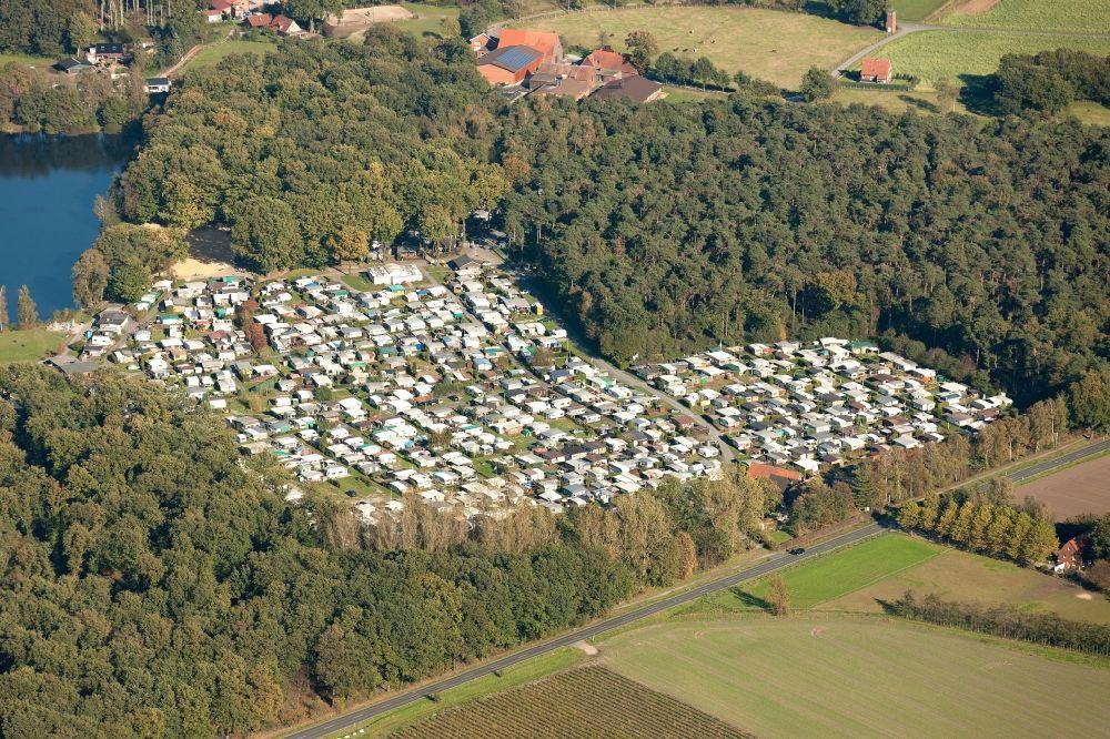 Luftbild Selm Campingplatz Am Ternscher See In Selm Im