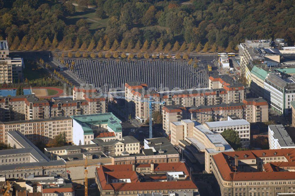 Luftbild Berlin Denkmal Fur Die Ermordeten Juden Europas Kurz Holocaust Mahnmal