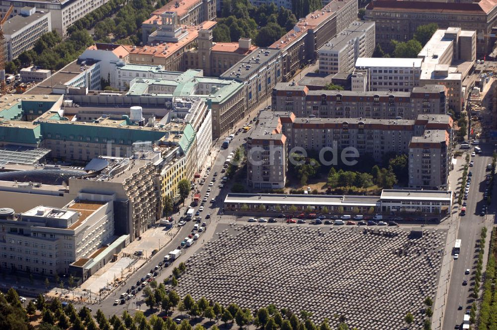 Luftbild Berlin Denkmal Fur Die Ermordeten Juden Europas Kurz Holocaust Mahnmal In Berlin