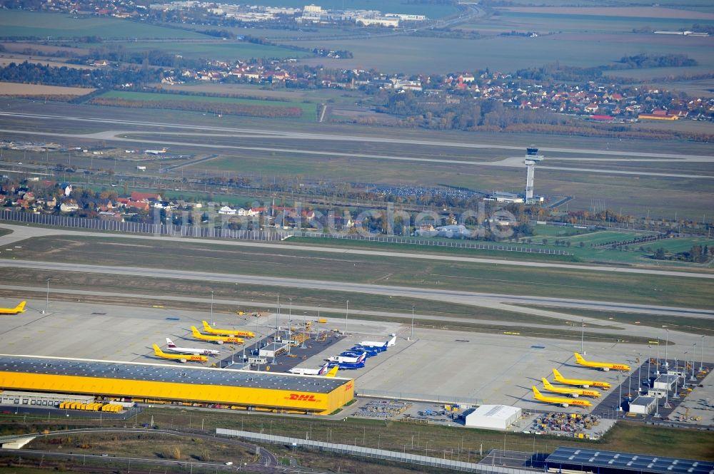 Luftaufnahme Leipzig Schkeuditz Dhl Hub Leipzig Gmbh Auf Dem