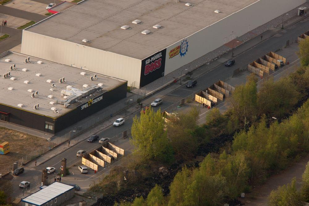 Luftbild Dortmund - Dortmunder Straßenstrich im Bundesland