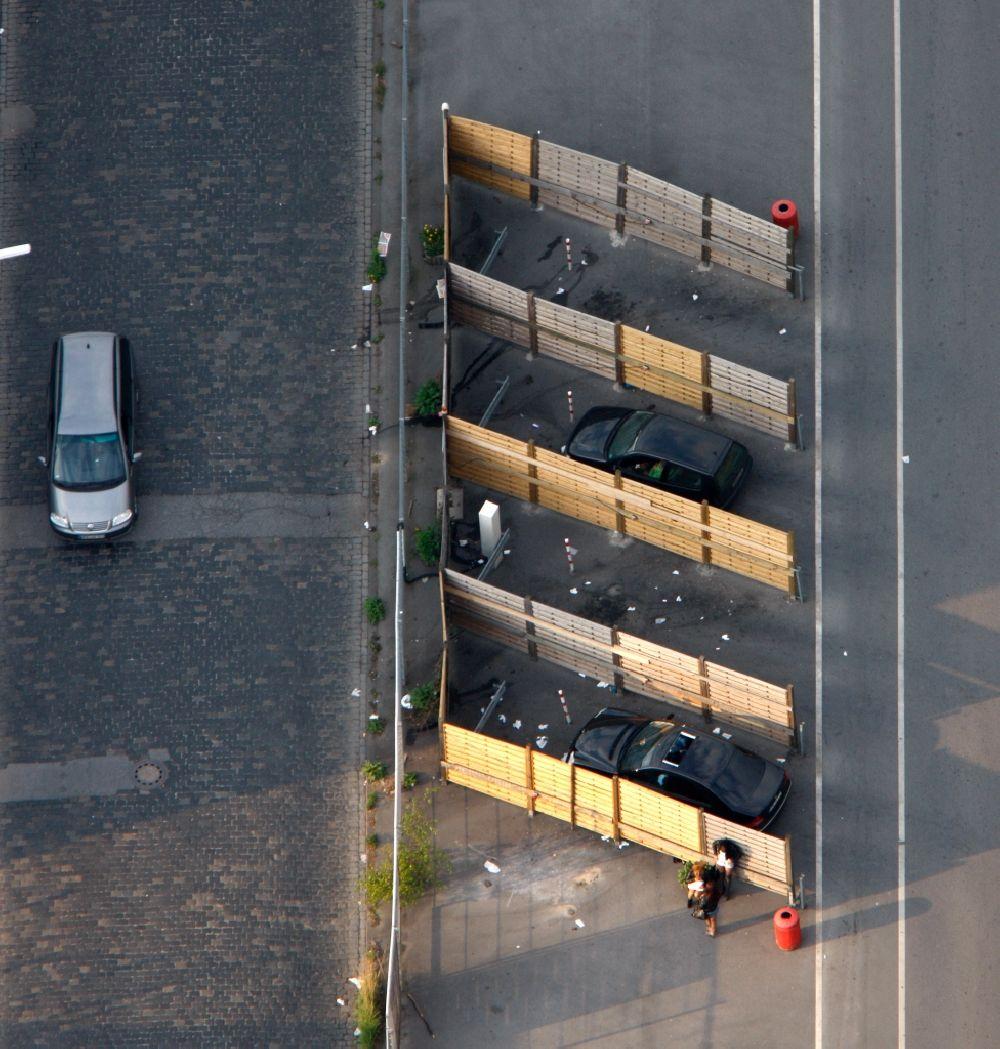 Luftaufnahme Dortmund - Dortmunder Straßenstrich im