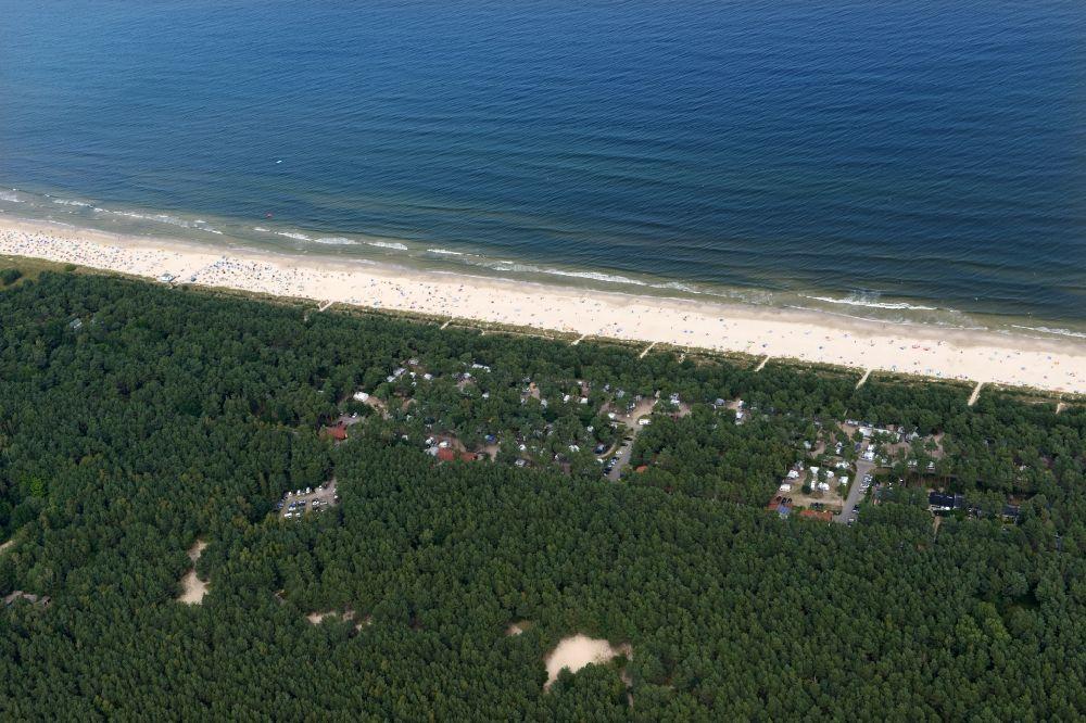Luftbild Karlshagen Dünencamp Und Campingplatz In Strandnähe An