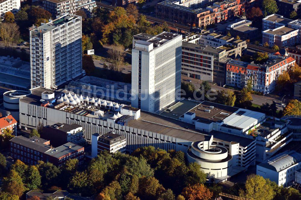 Hamburg Von Oben - Einkaufs- Zentrum Hamburger Meile In Hamburg Deutschland