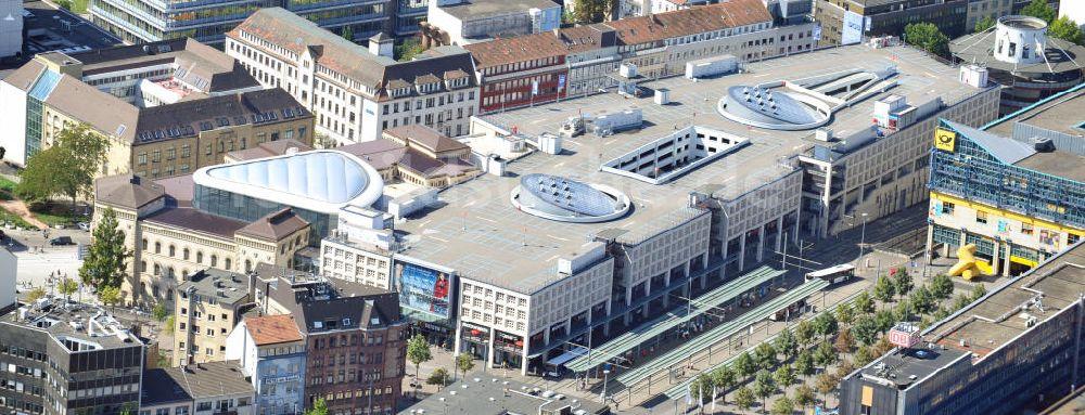 Saarbrucken Von Oben Einkaufszentrum Europa Galerie Saarbrucken