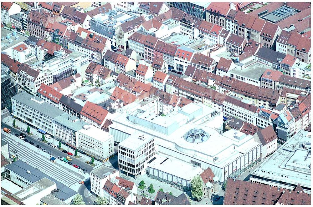 Nürnberg Von Oben Einkauscenter City Point