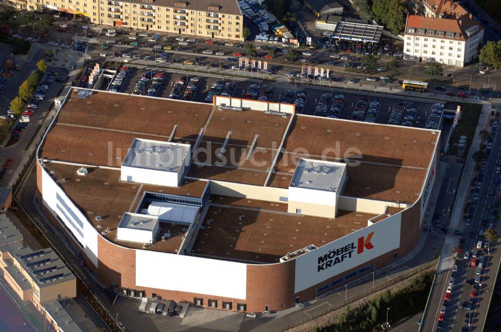 Luftaufnahme Berlin Eröffnung Des Möbelhauses Kraft Höffner Am