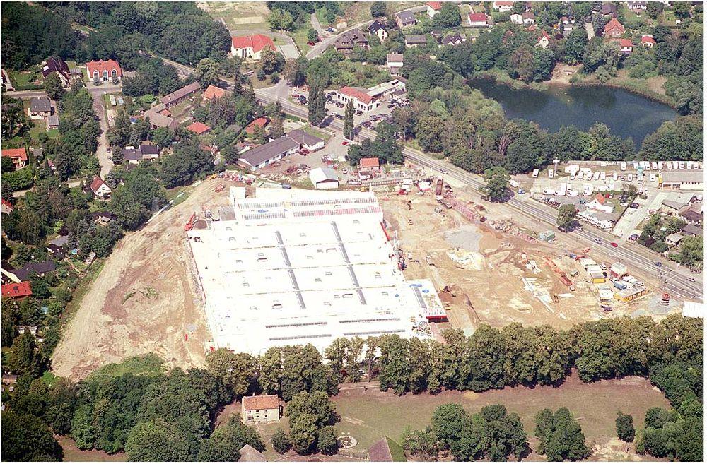 Bauhaus Birkenwerder oben errichtung eines baumarktes der bauhauskette in der nähe