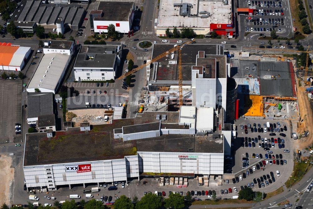 Luftbild Heilbronn Erweiterungsbaustelle Am Einrichtungshaus