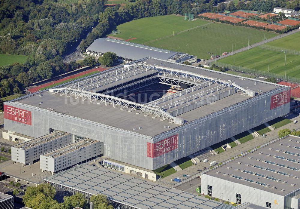 Düsseldorf Aus Der Vogelperspektive Esprit Arena Düsseldorf