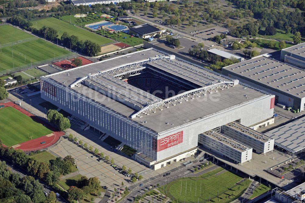 Luftaufnahme Düsseldorf Esprit Arena Düsseldorf