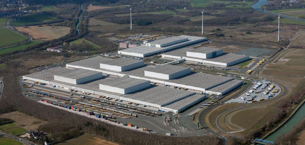 Dortmund Aus Der Vogelperspektive Europazentrale Logistikzentrum