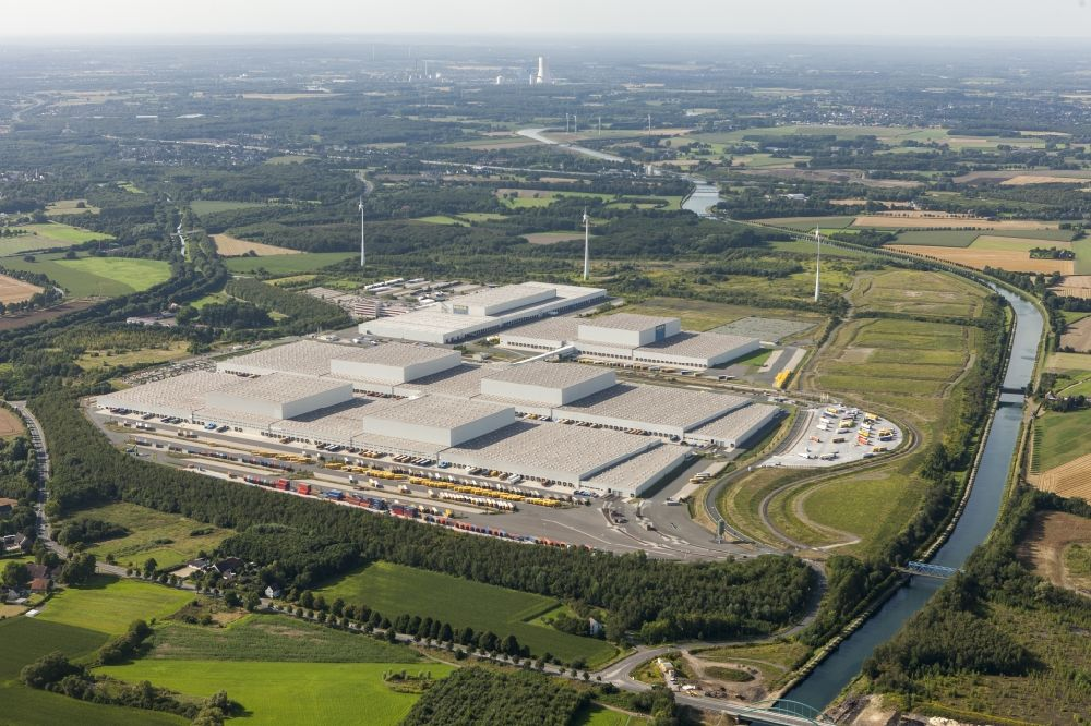 Dortmund Von Oben Europazentrale Logistikzentrum Ikea In Dortmund