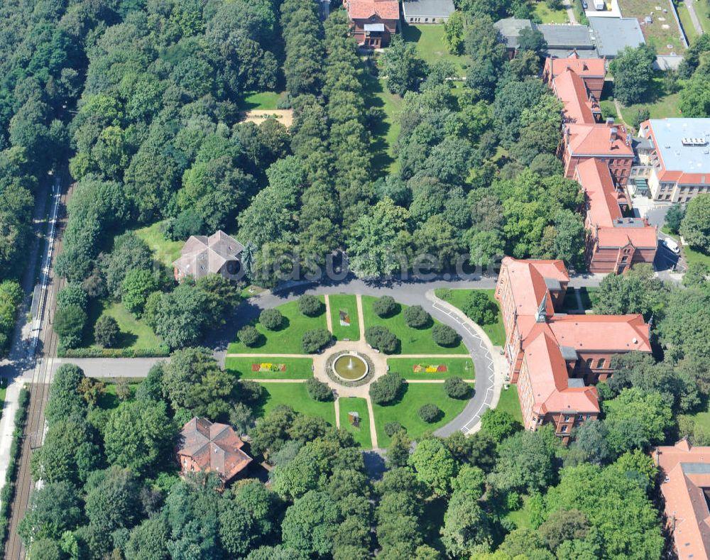 Luftbild Berlin Lichtenberg Evangelische Krankenhaus Königin