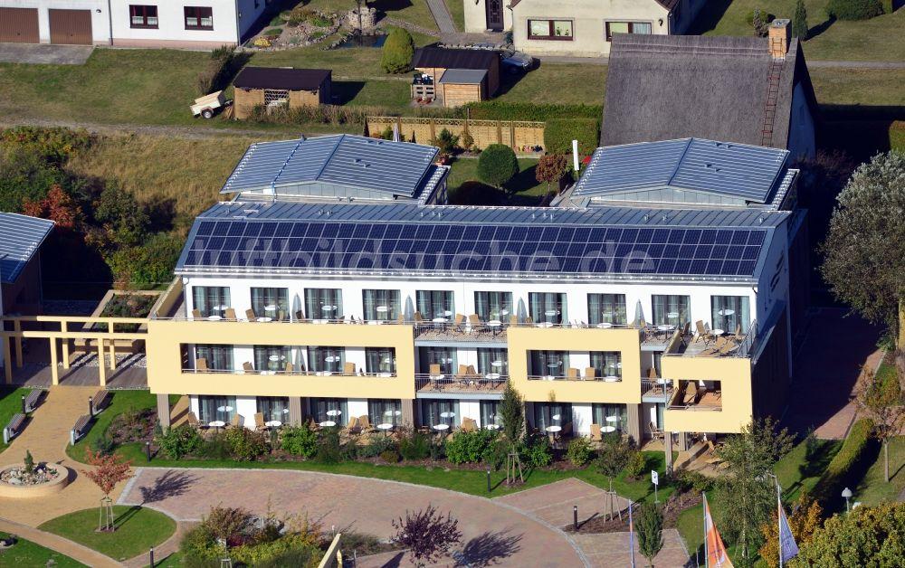 Luftaufnahme Trassenheide - Familien Wellness Hotel ...