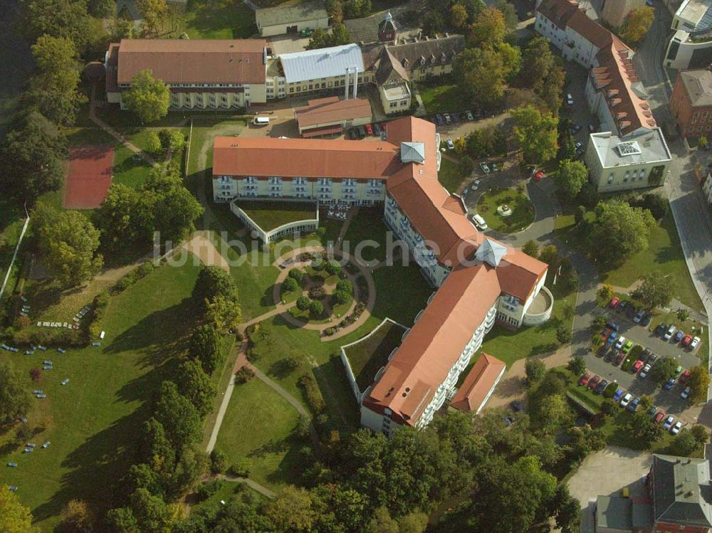 Bad Liebenwerda von oben - Fontana-Klinik Bad Liebenwerda