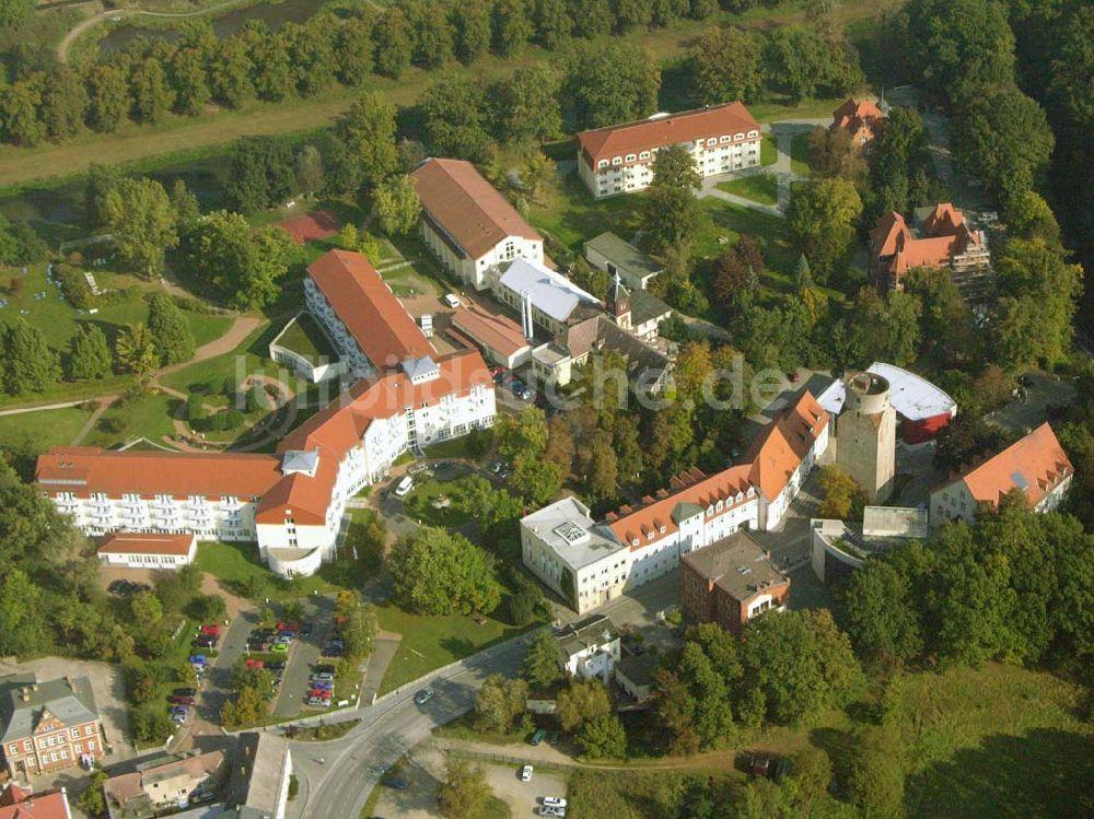 Luftaufnahme Bad Liebenwerda - Fontana-Klinik Bad Liebenwerda