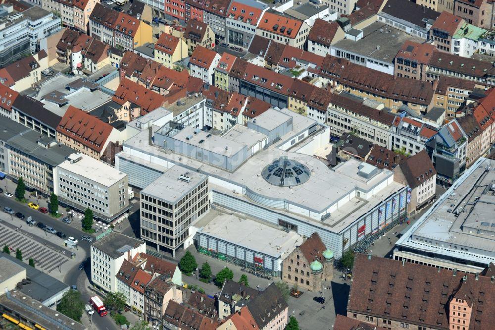 Luftbild Nürnberg Gebäude Des Einkaufszentrum City Point In