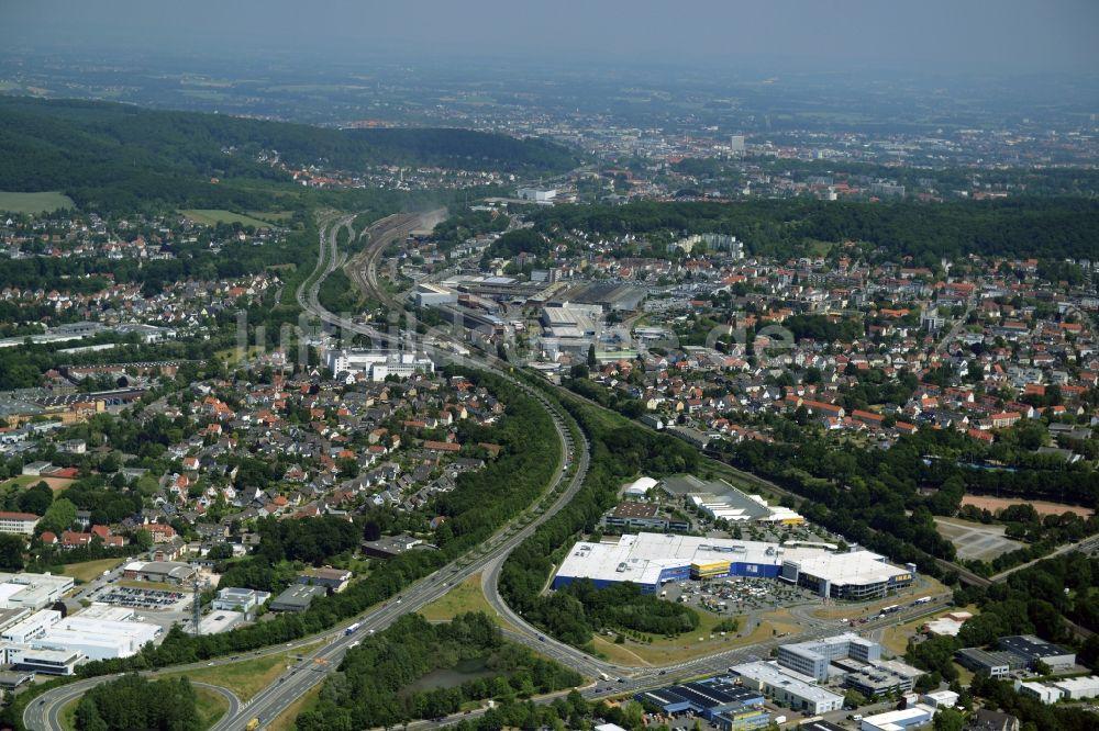 Möbelhaus Bielefeld oben gebäude des einkaufszentrum ikea einrichtungshaus