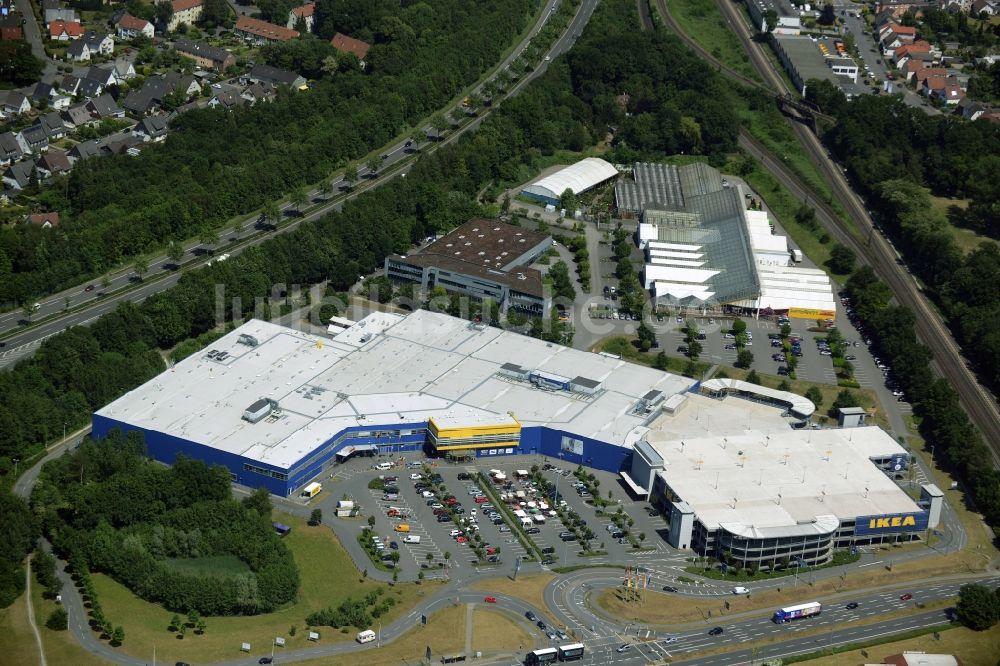 Möbelhaus Bielefeld bielefeld gebäude des einkaufszentrum ikea einrichtungshaus