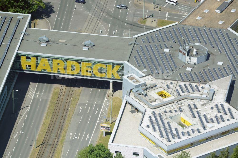 Bochum Von Oben Gebäude Des Einkaufszentrum Möbelhaus Und
