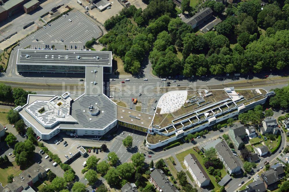 Bochum Aus Der Vogelperspektive Gebäude Des Einkaufszentrum