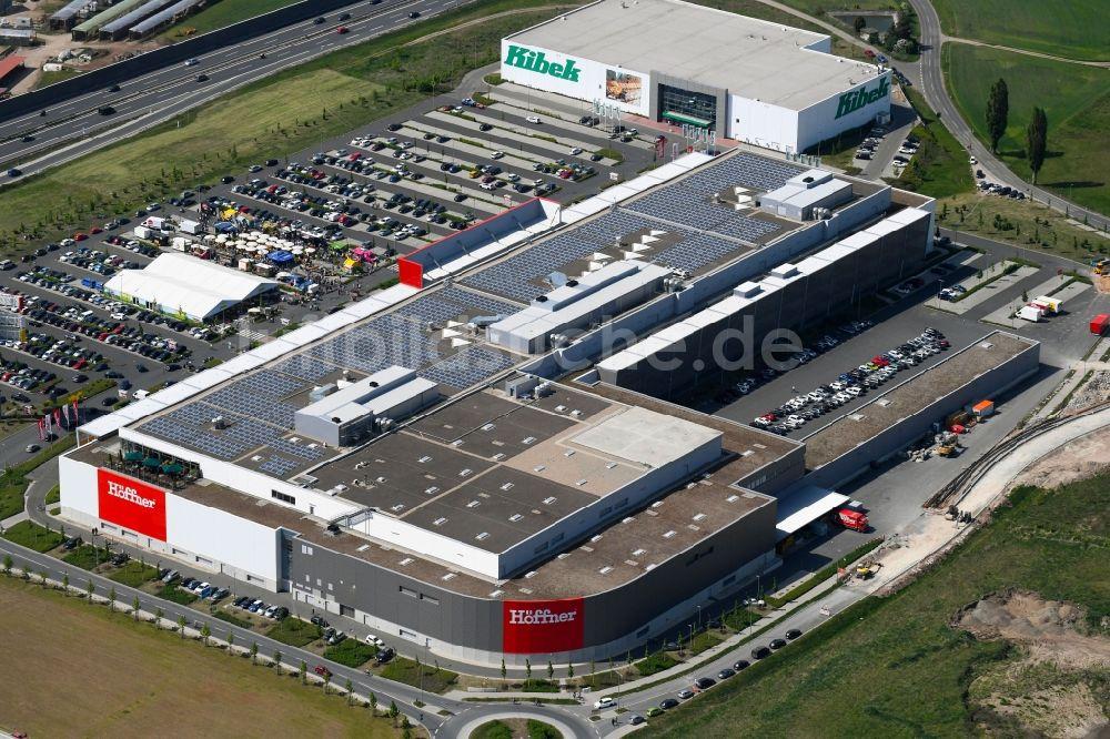 Luftaufnahme Fürth Gebäude Des Einrichtungshaus Möbelmarkt Der