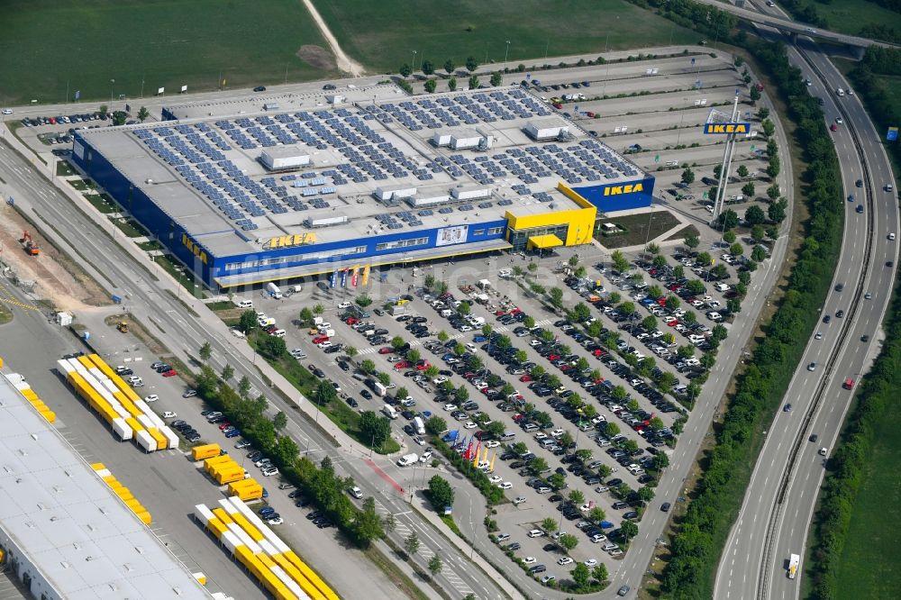 Möbel In Augsburg augsburg gebäude des einrichtungshaus möbelmarkt der ikea möbel