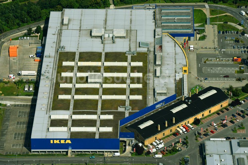 Ikea Schöneberg berlin gebäude des einrichtungshaus möbelmarkt der ikea möbel