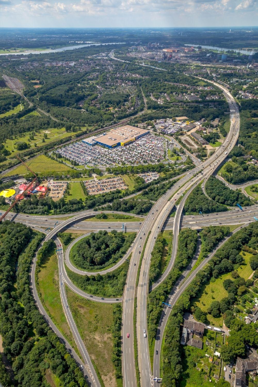 Möbel Duisburg duisburg gebäude des einrichtungshaus möbelmarkt der ikea möbel